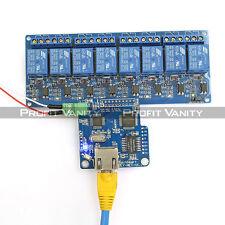 SainSmart iMatic WIFI IO Controller RJ45 + 8Ch Relay For Arduino Android iOS DE.