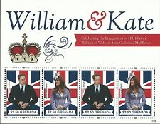 Grenada 2011 - Royalty Engagement of Prince William Kate Middleton - Sc 3800aMNH