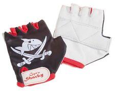 Kinder Fahrrad Handschuhe Capt'n Sharky Pirat schwarz NEU