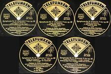 5x78 rpm Telefunken/MENGELBERG/BEETHOVEN SYMPHONIE VI