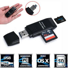 5Gbps Super Velocidad USB 3.0 Micro SD/SDXC TF Card Reader Adaptador para PC