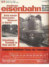 EISENBAHN 11-71 SCHMALSPUR-ROMANTIK IN WEST UND OST / DER TRIEBWAGEN