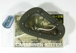 Daiichi #33213 D Carabiner Line Kitter Line Tightener Brown (2130)