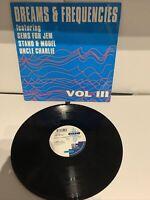 "Various-Dreams & Frequencies Vol III  1992 House Techno 12"" Vinyl Old Skool * AA"