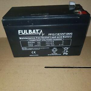 FULBAT SLA VRLA BATTERY - FP12-7.0 12v 7.0AH