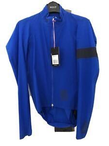 New RAPHA Men's Pro Team Lightweight Shadow Aquamarine Blue Cycling Jacket Small