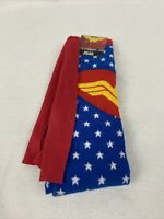 DC Comics Wonder Women Knee High Socks with Cape Sz: 9-11 ~BRAND NEW~