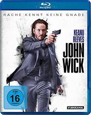 JOHN WICK (Keanu Reeves, Nichael Nyqvist) Blu-ray Disc NEU+OVP