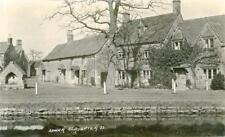 REAL PHOTOGRAPHIC POSTCARD OF LOWER SLAUGHTER, GLOUCESTERSHIRE BY PERCY SIMMS