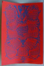 1967 Psychedelic Calendar Poster, Art by David Hodges. Blessed Trinity.