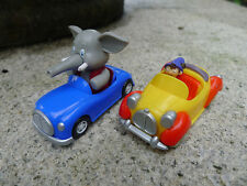 "Original Noddy Race Car 3"" Plastic Car Noddy's Car & Mr Jumbo Toy Cars New Loose"