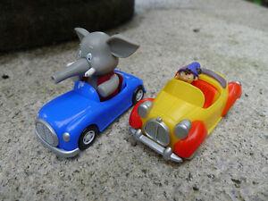 "Original Noddy Race Car 3"" Plastic Car Noddy's Car & Mr Jumbo Toy Cars New Loose"