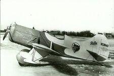GEE BEE NC 11043  RACING AIRPLANE 5 X 7 B&W PHOTOGRAPH