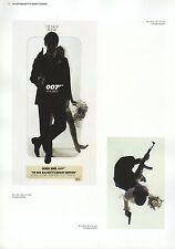 """2002 Vintage JAMES BOND """"ON HER MAJESTY'S SECRET SERVICE"""" MINI POSTERS Art Litho"""