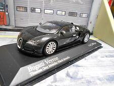 BUGATTI Veyron 16 Zyl Edition 2009 met black grey titanium Minichamps 1:43