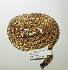 NEW Gold Chain 14ct 585 Bismark 40.6g Solid Heavy Gold.Not Scrap or 9ct,18ct