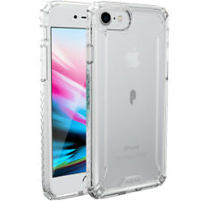 Poetic iPhone 8 Case Affinity Dual material Protective Premium Thin Cover Clear