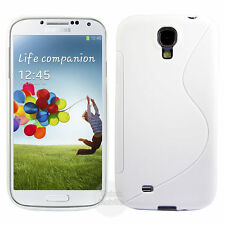 HOUSSE ETUI COQUE SILICONE GEL BLANC SAMSUNG GALAXY S4 ACTIVE i9295