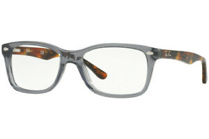New Authentic Ray Ban RX5228 5629 Opal Grey Eyeglasses 53-17-140