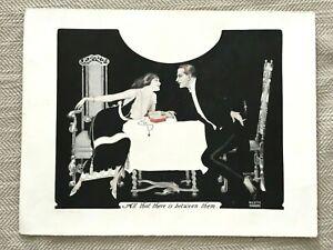 Originale Art Déco Sigaretta Annuncio De Reszke Tabacco da Negozio Store Firmare