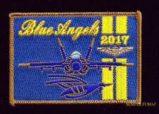 2017 BLUE ANGELS  HUNTINGTON BEACH CA NAME PATCH AIRSHOW F18 US NAVY MARINES BR