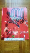 MICHAEL JORDAN Complete Upper Deck album 1998 not Panini Chicago Bulls