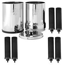 Imperial Berkey Water Filter System w/ (2) Extra Sets of Black Berkey Elements