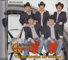Paralelo Norte Ya No Somos Lo Mismo CD New Nuevo Sealed