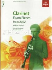 More details for clarinet exam pieces from 2022 abrsm grade 7 music book/piano same day dispatch