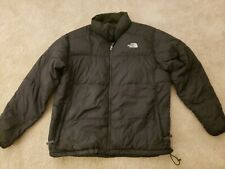 The North Face 550 Down Fill Men's Black Puffer Jacket Coat Size XL