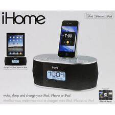 NEW iHome iD38 Apple Docking Station Clock Radio Speaker (iPhone / iPad / iPod)