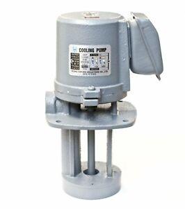 "1/8 HP Machinery Coolant Pump, 110/220V, 1PH, Shaft Length 4.3"" (110mm)"