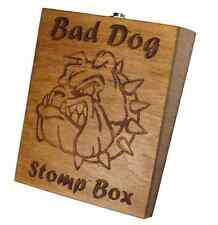 Bad Dog Stompbox Rhythm Foot Drum Stomp box Cigar Box Guitar