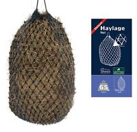 """Shires Deluxe Extra Strong Small Mesh Holes 1.75"""" Small Haynet Haylage Net 36"""""""