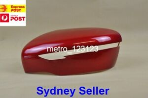 MIRROR COVER FOR NISSAN QASHQAI J11, X-TRAIL T32 2014 ONWARD ( RED, LEFT SIDE