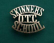 The Skinners School OTC Shoulder Title 100% GENUINE British Military Army Badge