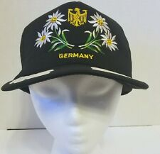 Vintage German Germany snapback cap hat adjustable
