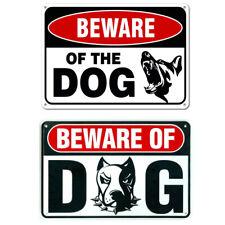 DOBERMAN BEWARE OF THE DOGS METAL SIGN,SECURITY,WARNING,GUARD DOG SIGN UK
