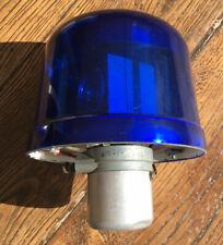 Gyrophare ancien SEV Marchal bleu, pour véhicule de collection