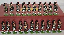 BRITAINS 41103 BLACK WATCH REGIMENTAL BAND 21 PIECE LIMITED EDITION SET