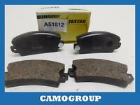 Pads Brake Pads Front Textar For PEUGEOT 104