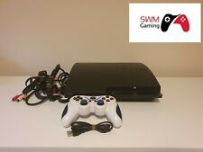 Sony Playstation 3 Slim 160GB console. Tested & Working. Good Condition.