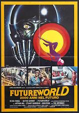 CINEMA-soggettone FUTUREWORLD 2000 ANNI NEL FUTURO fonda, hill, HEFFRON