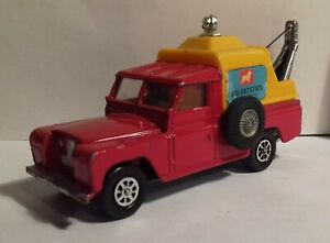 "Corgi Toys 477 Land Rover Series 1 109"" breakdown wreck wrecker tow truck"
