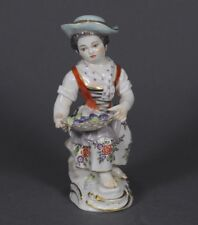 Meissen gärtnerkind Gardener's Child Kaendler personnage figure figurine porcelain