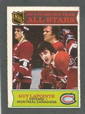 1975-76 OPC O-Pee-Chee Hockey Guy Lapointe #293 All-Star Canadiens EX/MT *2