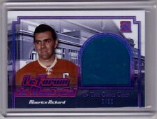 MAURICE RICHARD 16/17 Leaf Event Used Seat Le Forum de Montreal  PURPLE #2/12 SP