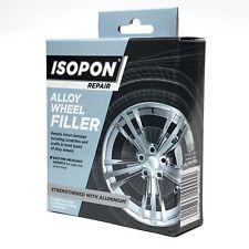 Isopon Alloy Wheel Repair Filler 4 x 25g Sachet Strengthened with Real Aluminium