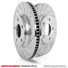 Disc Brake Rotor Set-Turbo Front Power Stop JBR552XPR fits 89-91 Nissan 300ZX
