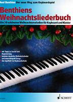 Keyboard / Klavier Noten : Benthiens Weihnachtsliederbuch f. Keyboard u Klavier